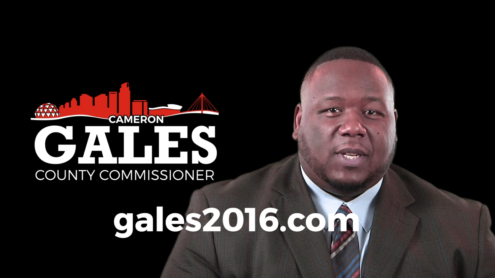 Cameron Gales, County Commission